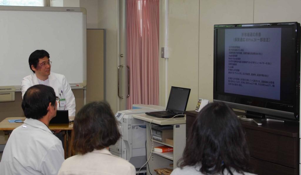 肝胆膵移植外科 藤山泰二 先生です
