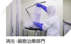 再生・細胞治療部門