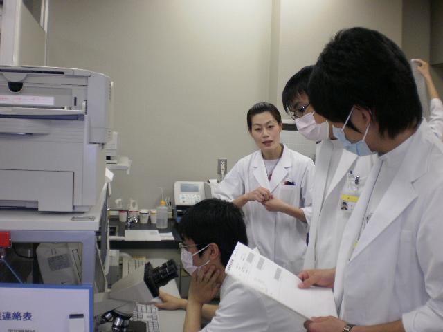 臨床検査実習