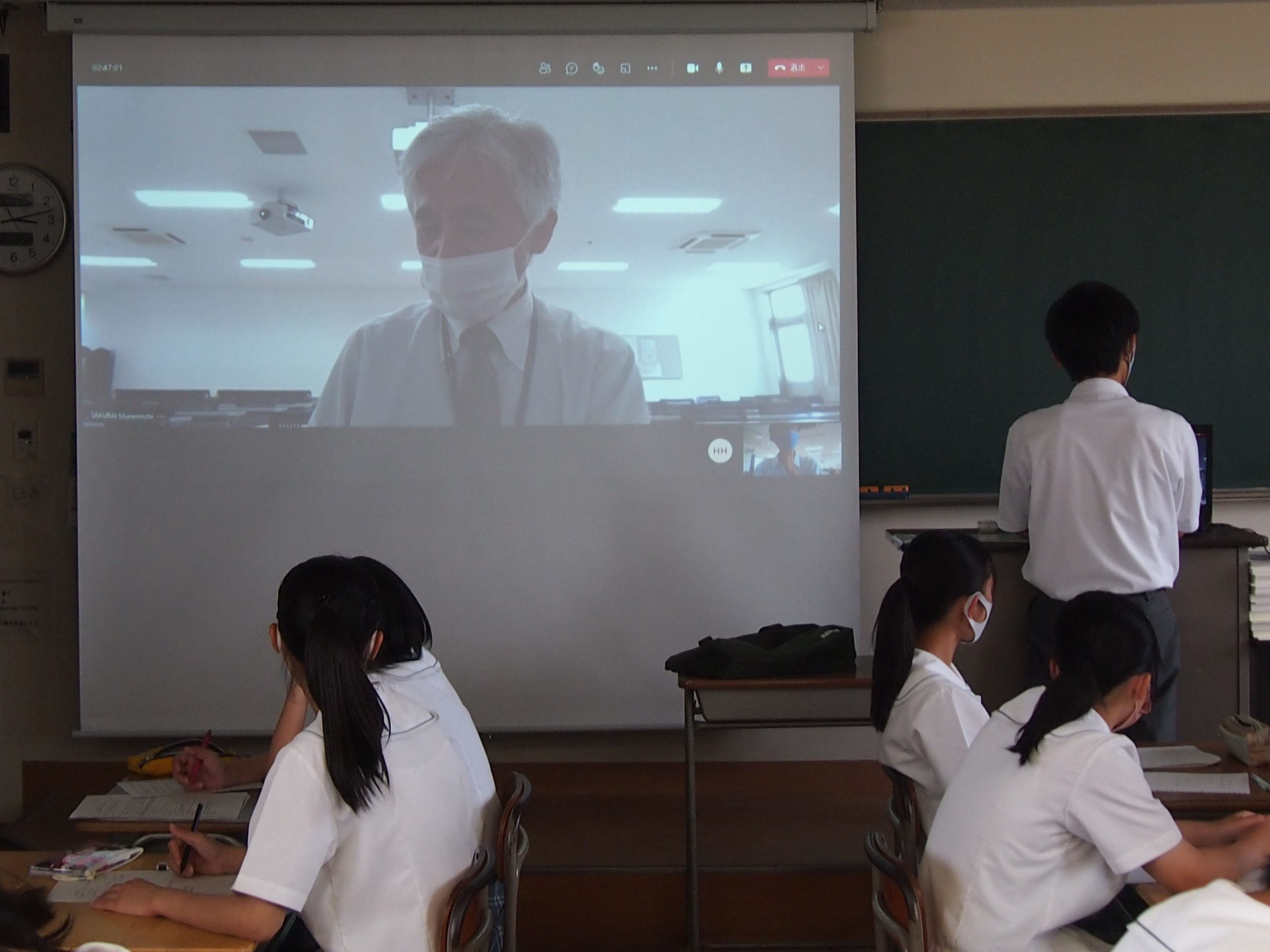 令和3年度愛媛大学附属高等学校夏季高大連携プログラム「応用科学探究」を実施しました