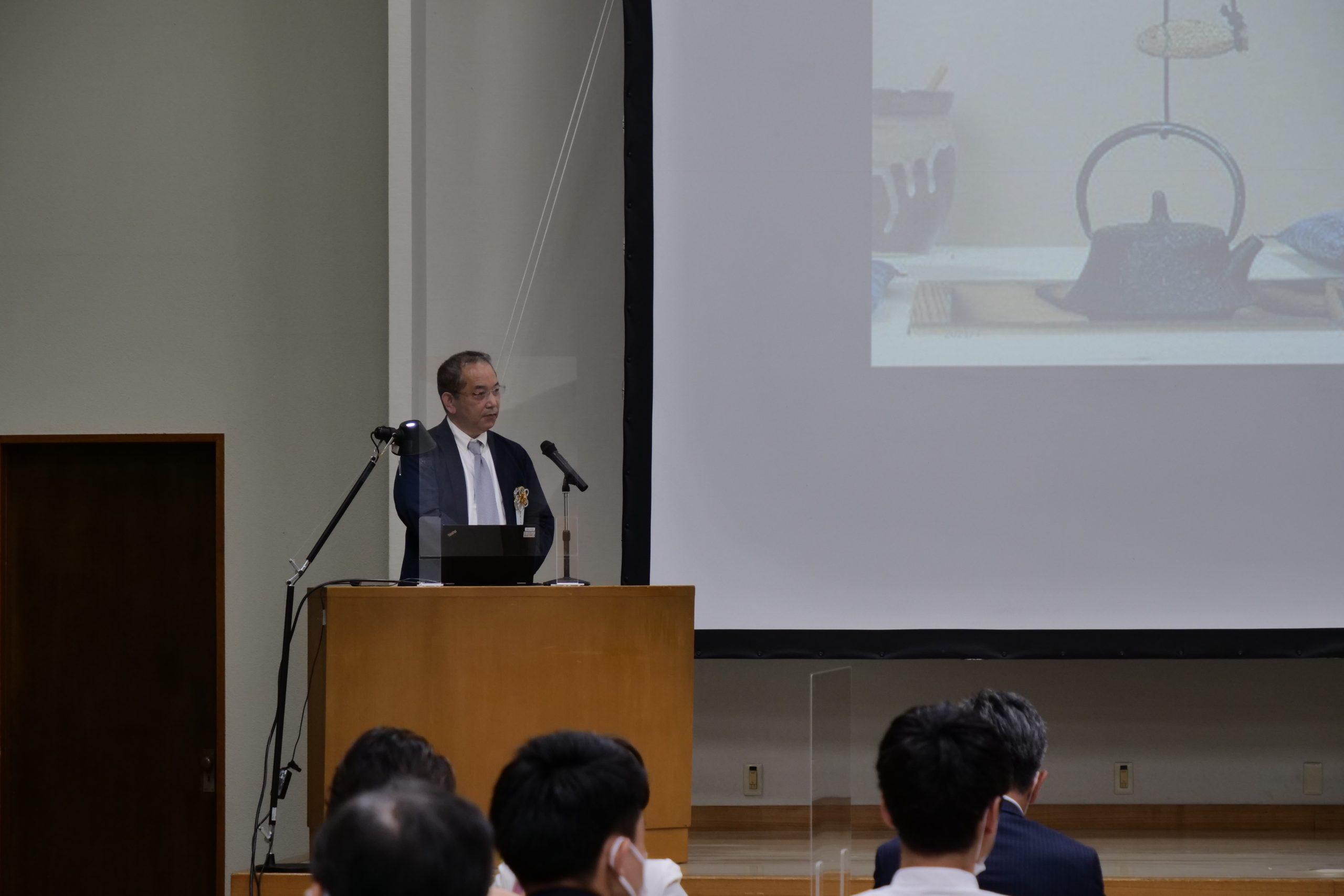 第7回いよぎんビジネスプランコンテストにおいて臨床腫瘍学講座の薬師神芳洋教授がDX賞を受賞しました